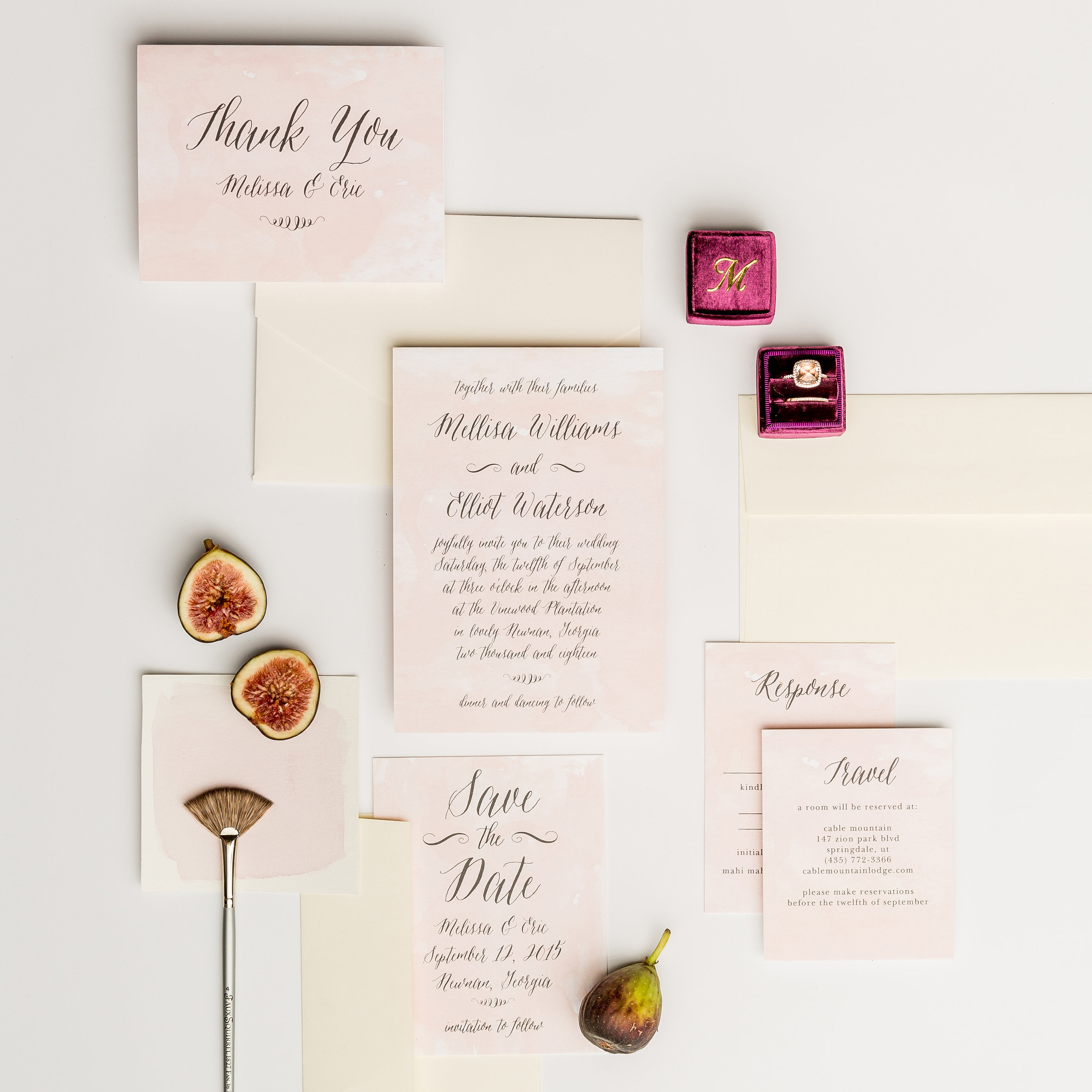 Basic Invite Wedding Stationery Invitation Examples Free Samples Instant Previews Fully Customizable
