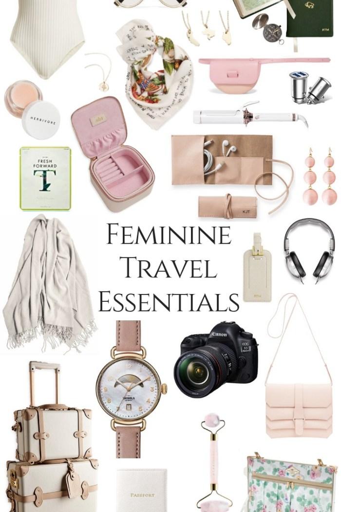 My Feminine Travel Essentials