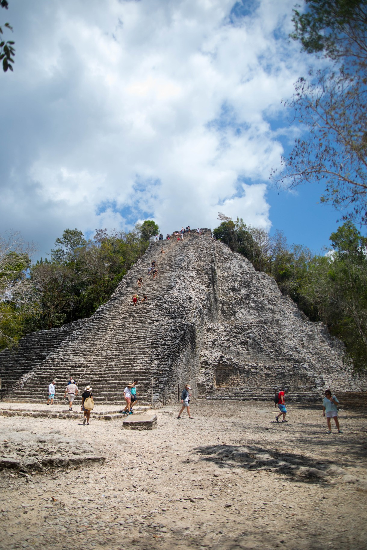 Exploring the Ancient Mayan Ruins of Cobá in Quinatana Roo, Mexico (Yucatán Peninsula)