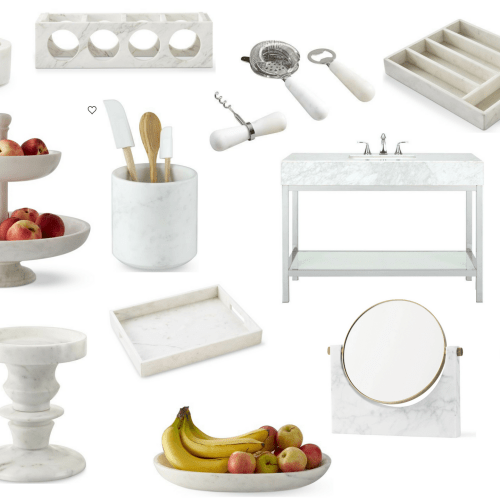 Marble Home Decor Pieces Under $100