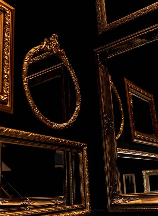 Hall of Mirrors inside Hotel Walloon, Walloon Lake, Michigan