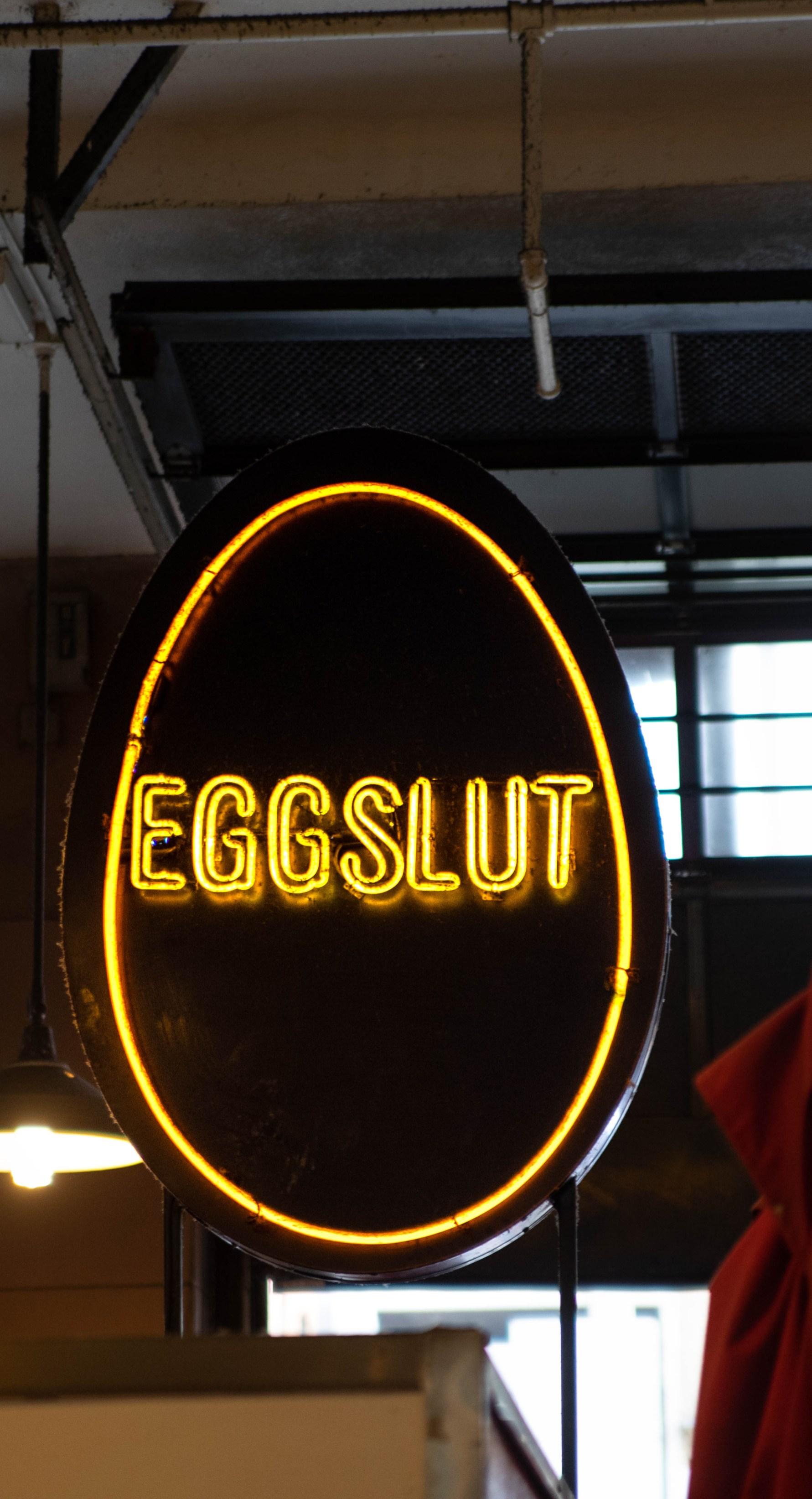 Eggslut Restaurant Inside Grand Central Market Los Angeles