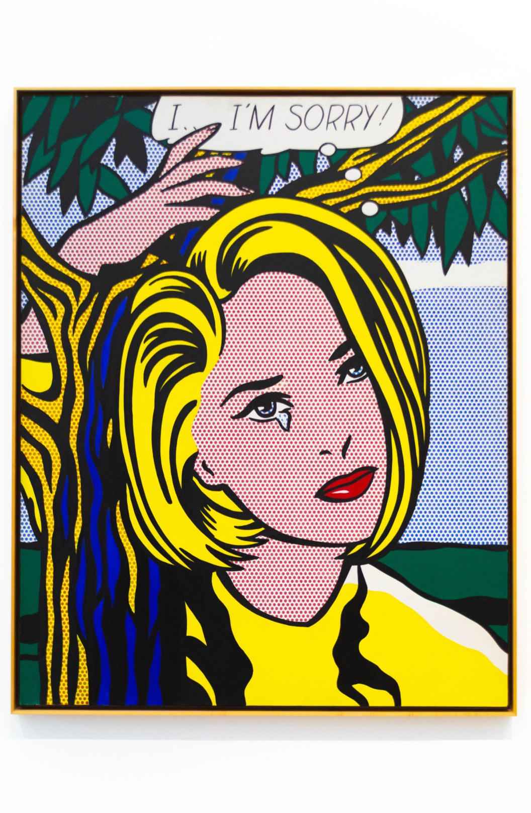 I...I'm Sorry! by Roy Lichtenstein at The Broad Museum in Los Angeles