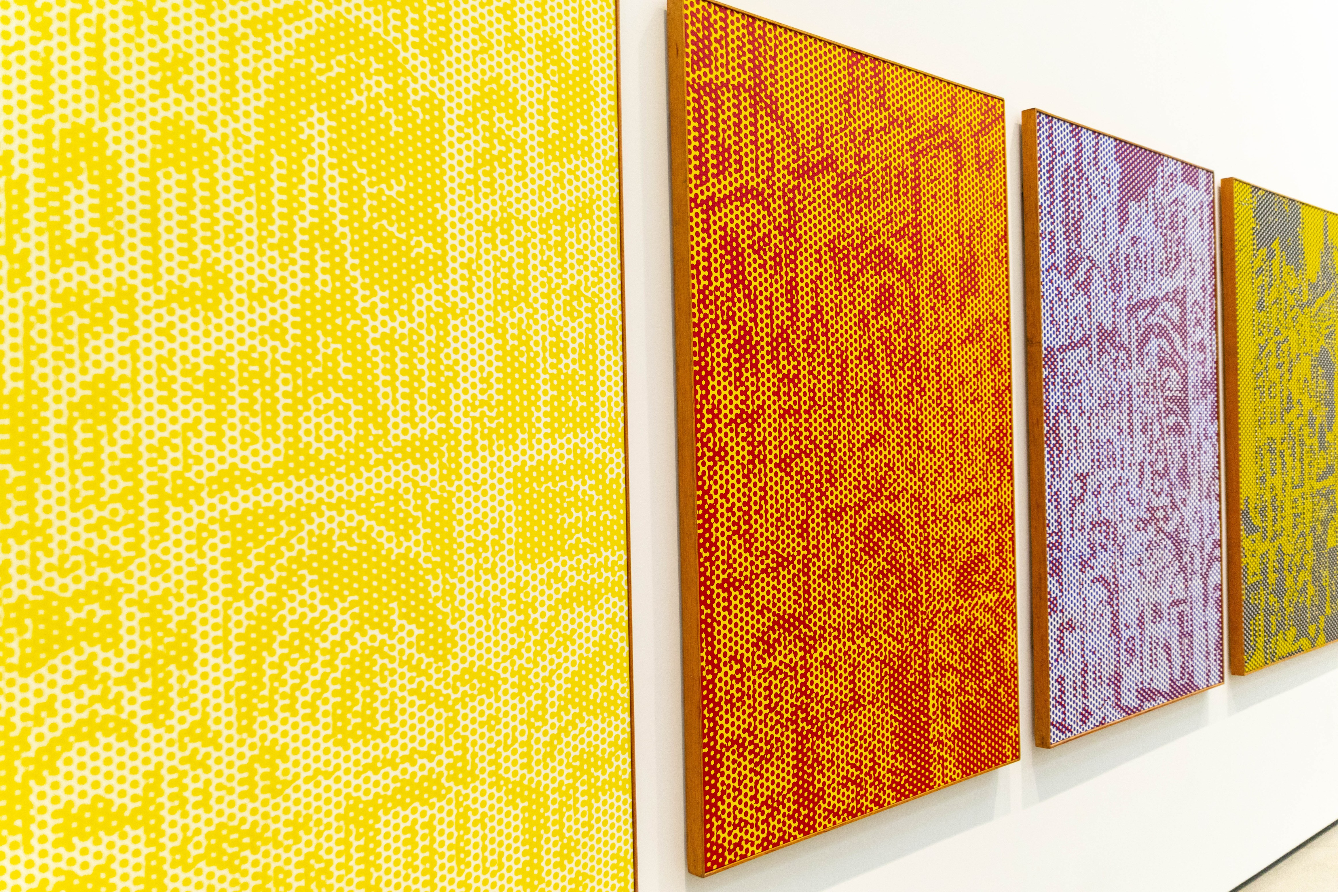 Roman Cathedrals by Roy Lichtenstein at The Broad Museum in Los Angeles