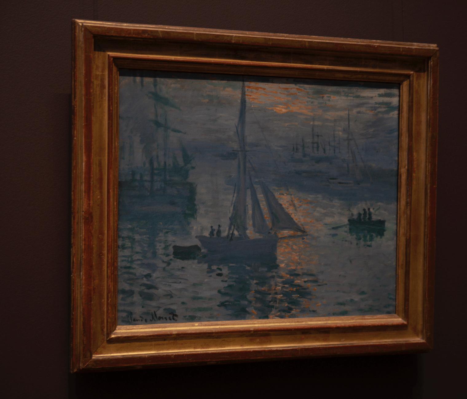 Claude Monet Paintings at The Getty Museum in Los Angeles