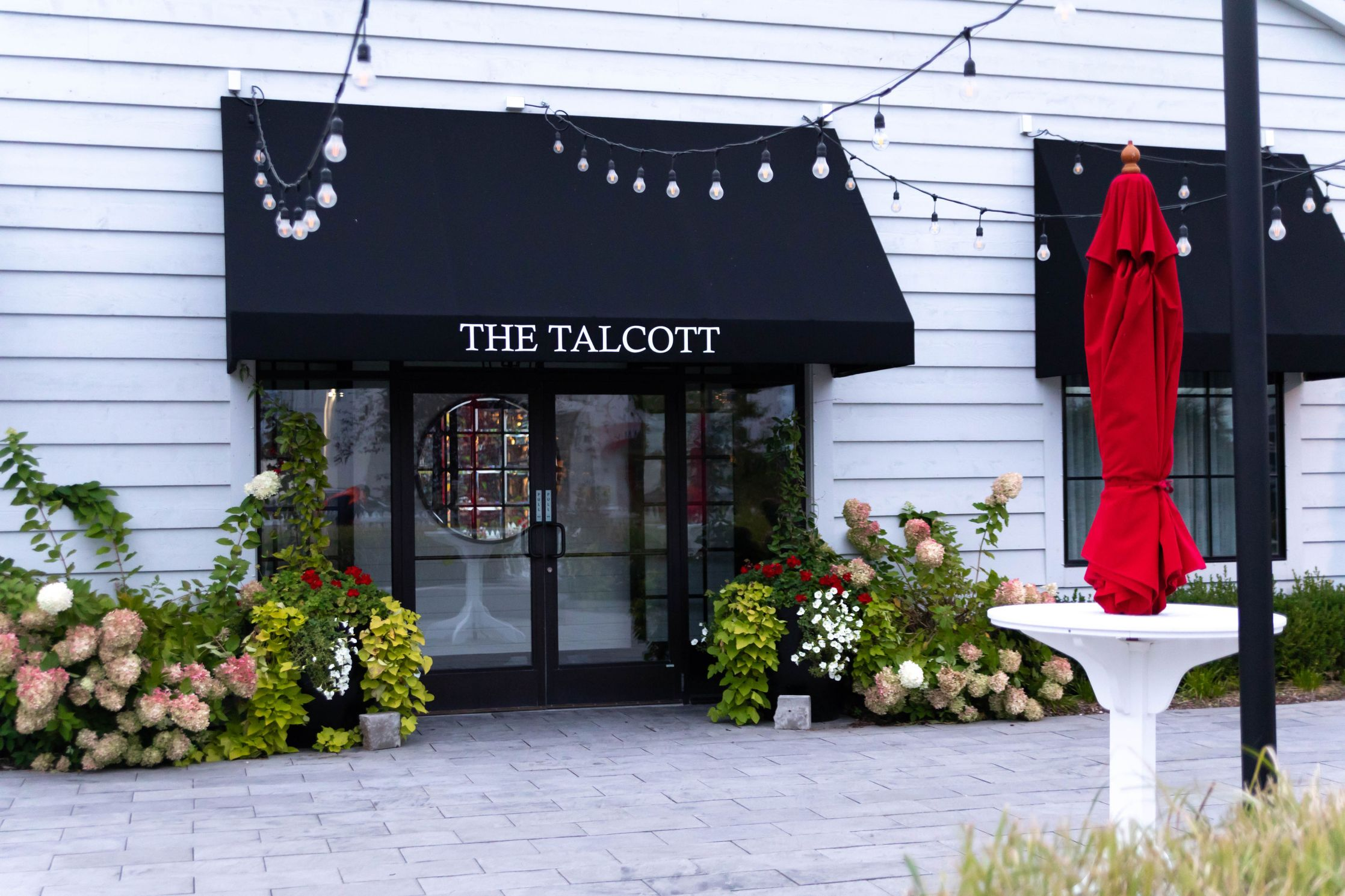 Dreamy Wedding Venues at Hotel Walloon Walloon Lake Village Northern Michigan Beach weddings The Talcott
