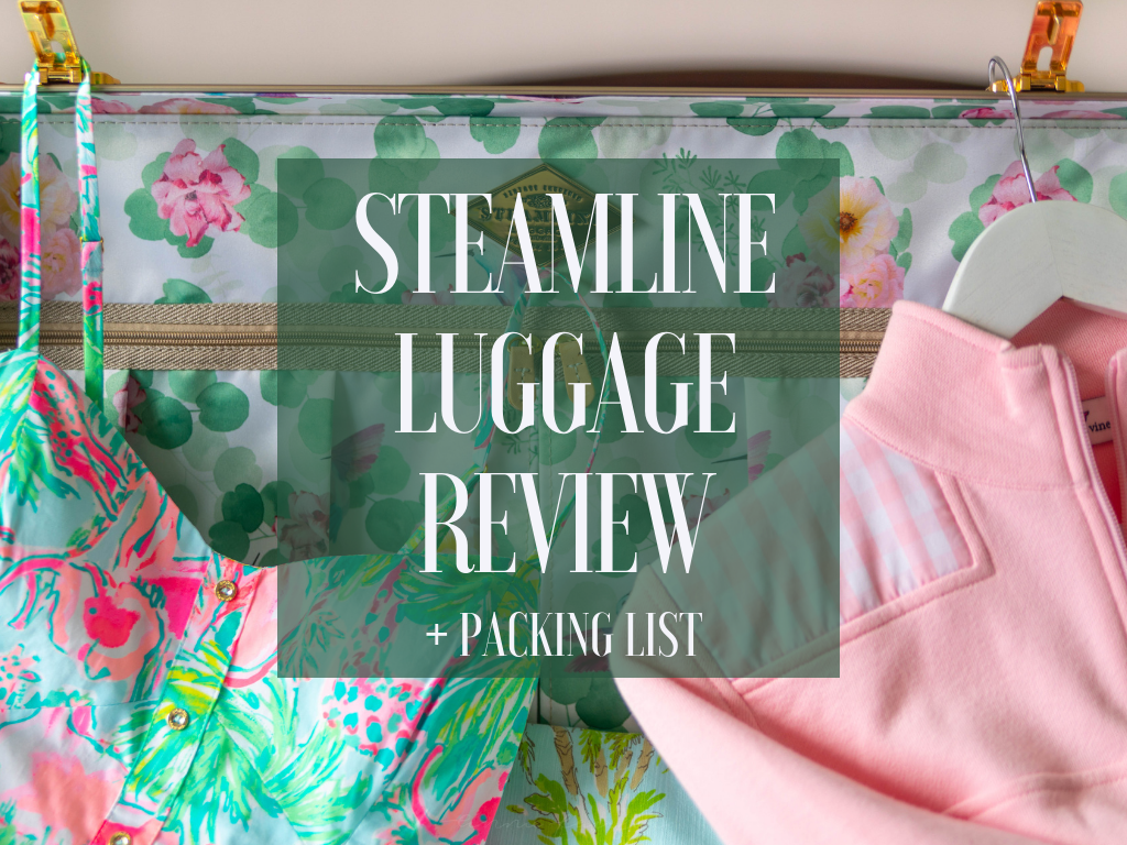 Steamline Luggage Review and Packing List