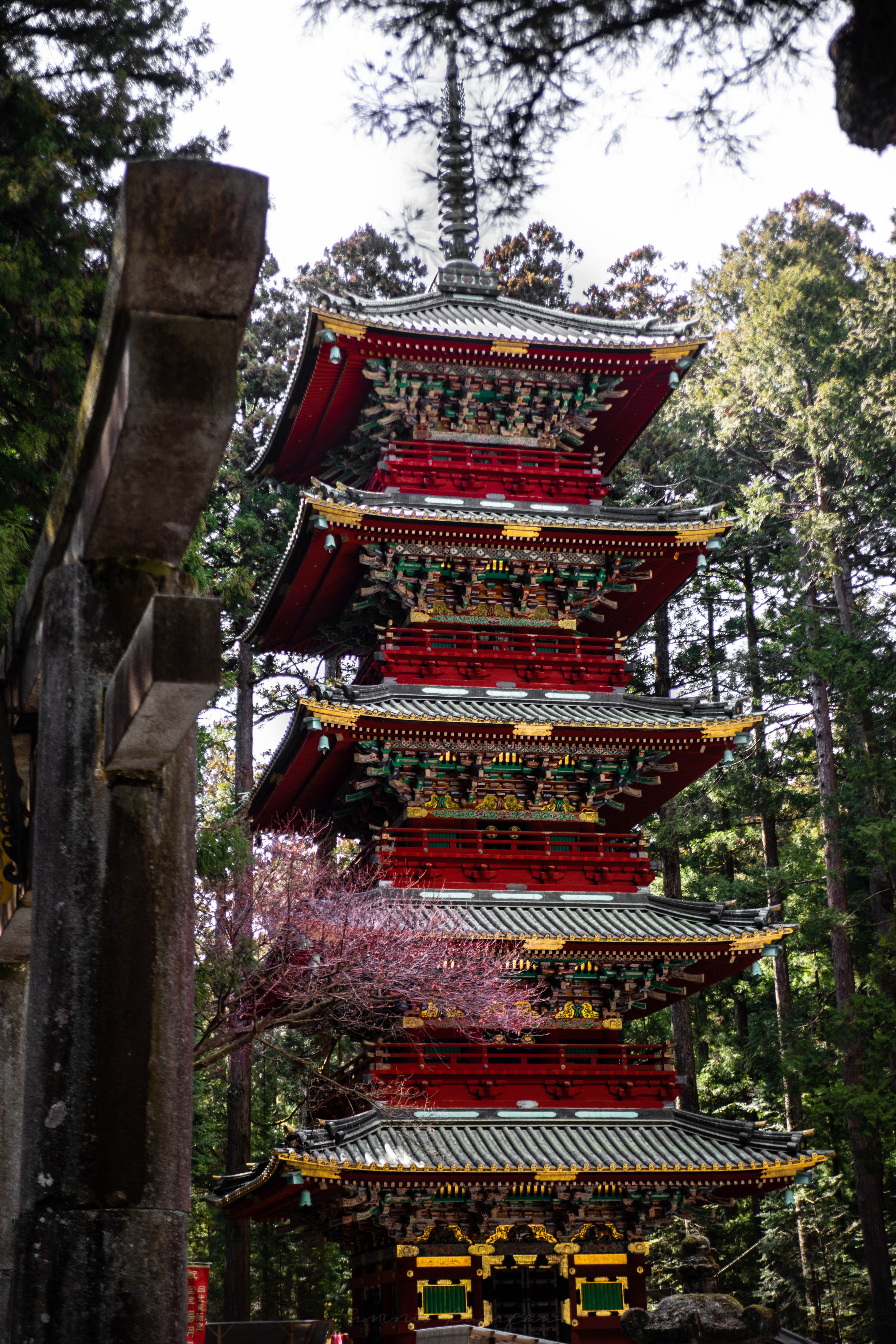 Red Pagoda Nikko, Japan, the Ultimate Travel Guide Written, Researched, and Photographed by Travel Writer & Photographer Annie Fairfax