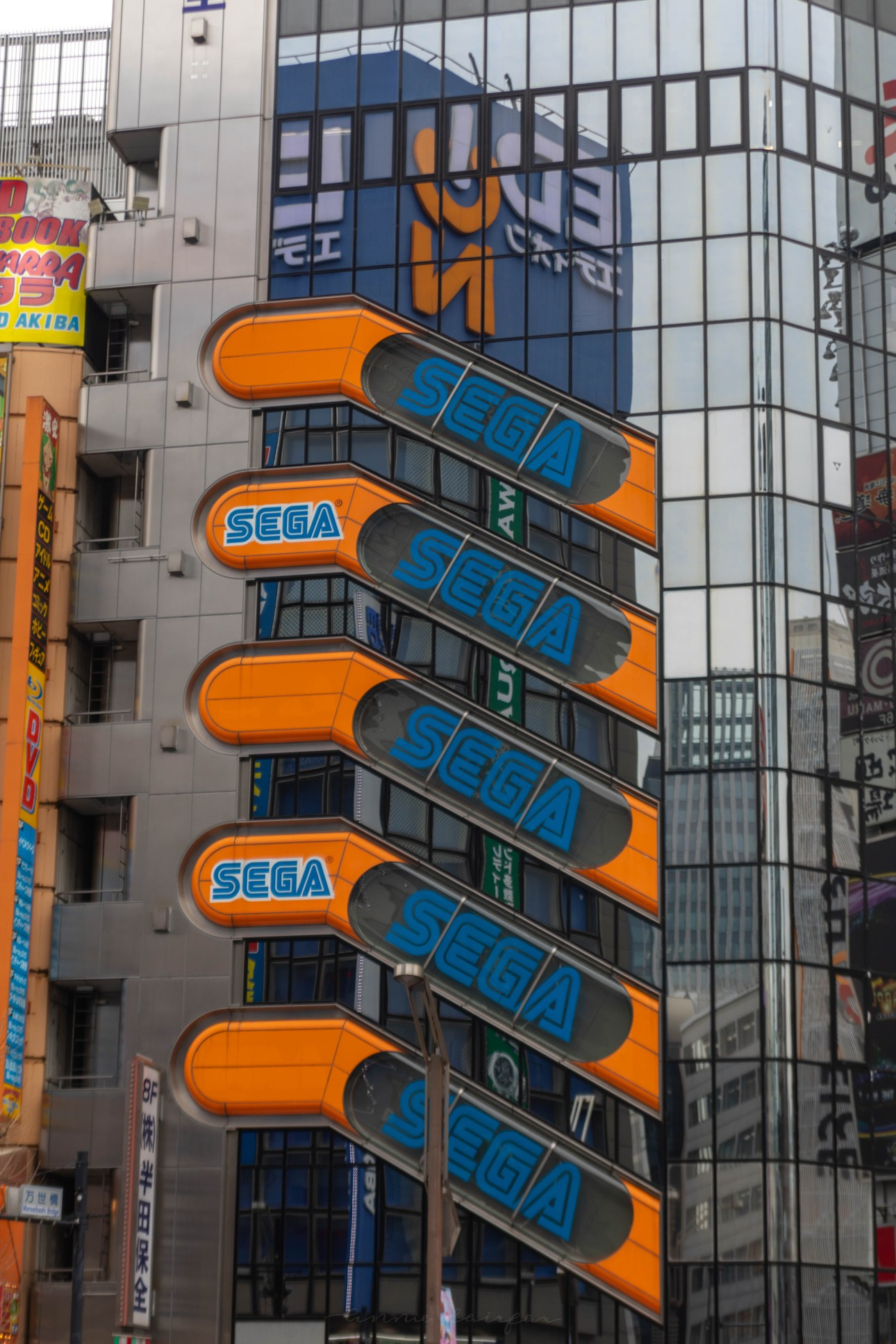 Sega Store in Akihabara Tokyo japan Tokyo, Japan: The Official Travel Guide Photographed, Researched, and Written by Annie Fairfax What to Do in Japan, Where to Eat in Tokyo, What to do in Tokyo, Things to Do in Tokyo, Tokyo Tourism, Places to Stay in Tokyo Tokyo Luxury Travel