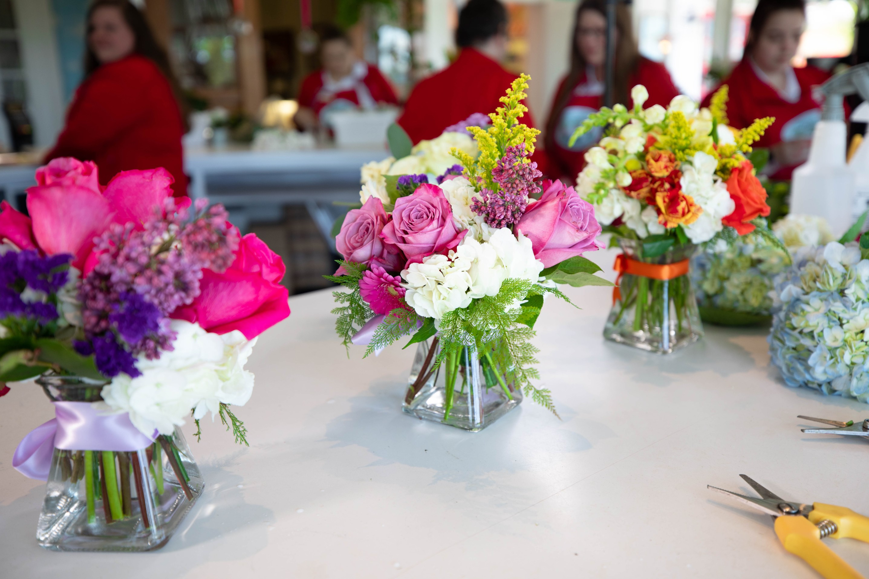 How to make the perfect spring floral bouquet with Margaret's Garden team Grand Hotel on Mackinac Island