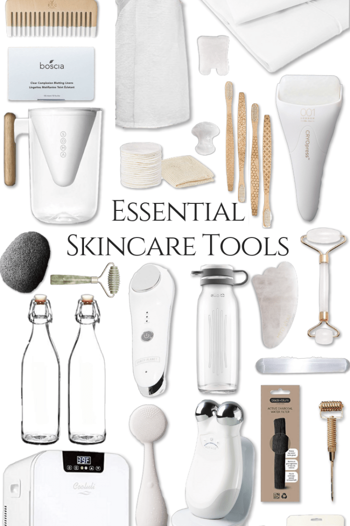 My Favorite Skincare Tools & How to Use Them