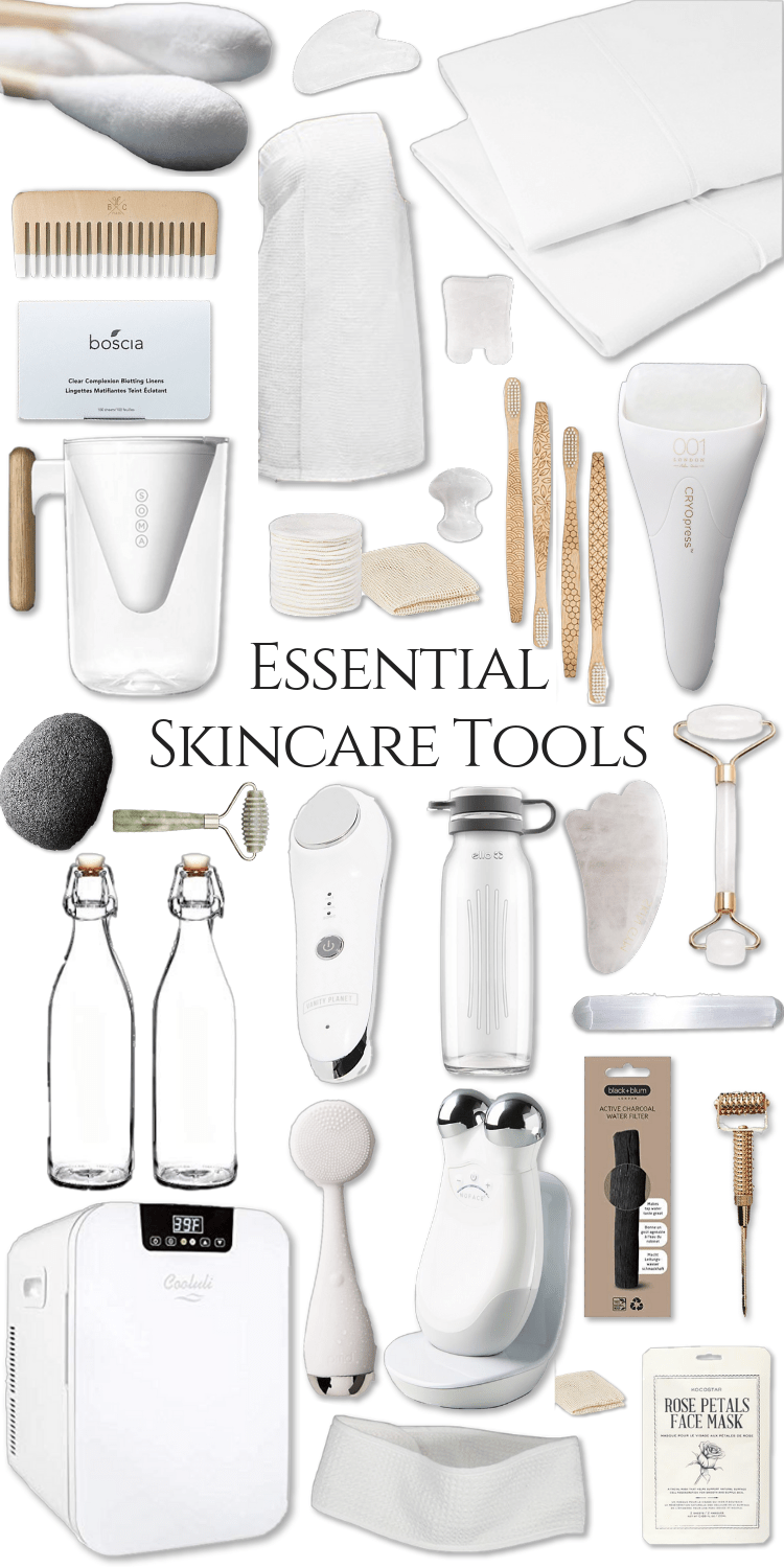 Essential Skincare Tools and How to Use them to achieve better skin Glass Skin Skincare products K-Beauty Korean Beauty Tools