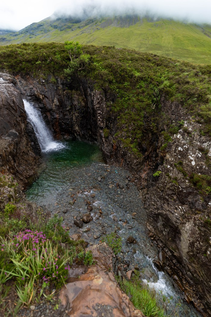 Hiking, Swimming, and Renewing Our Vows at the Fairy Pools on Isle of Skye, Scotland