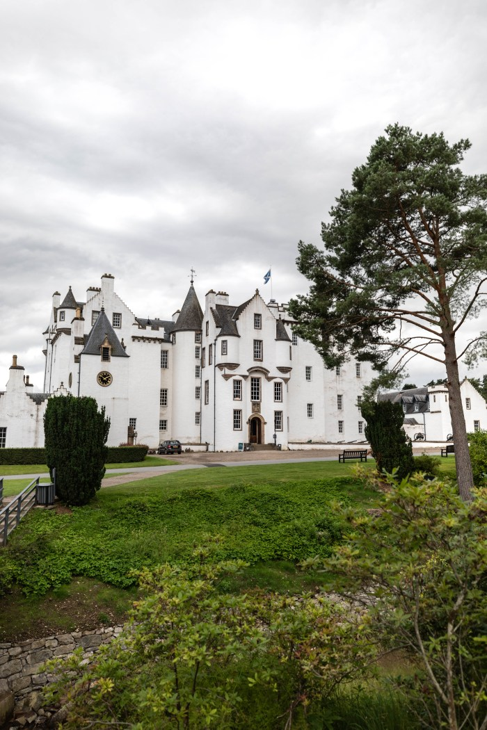 Exploring Blair Castle in Blair Atholl, Scotland