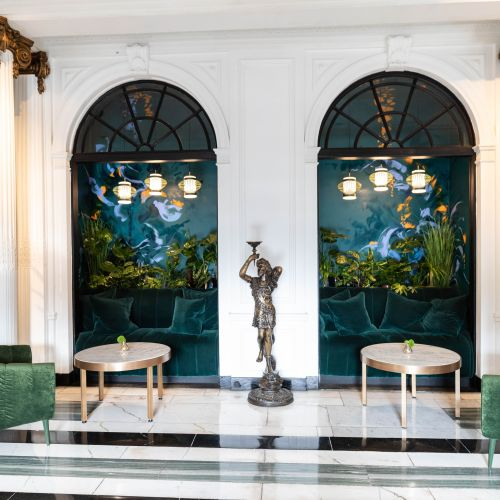 Luxury Hotels of the World: The Kimpton Blythswood Square Hotel in Glasgow, Scotland