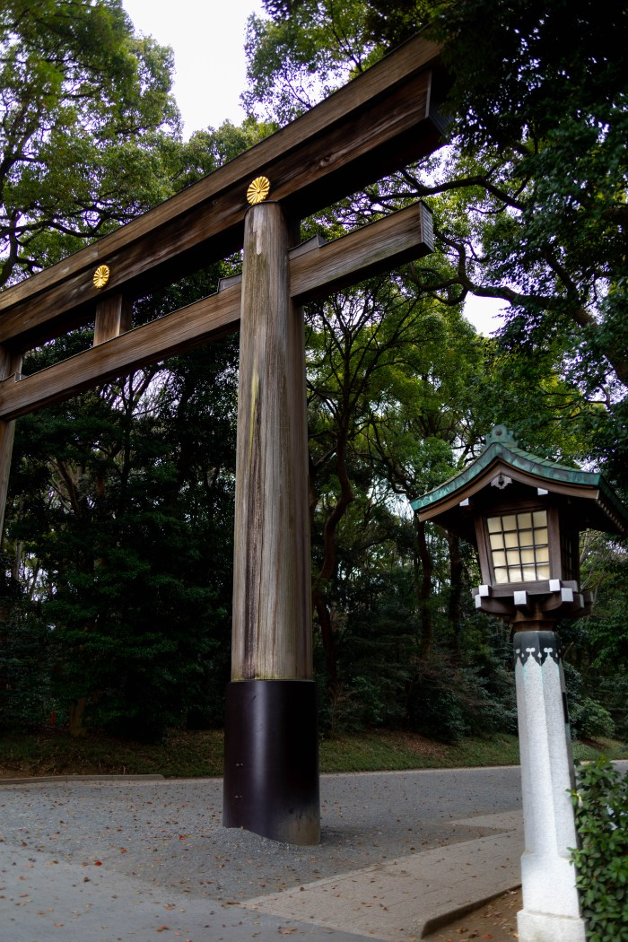 Visiting Meiji Shrine in Tokyo, Japan