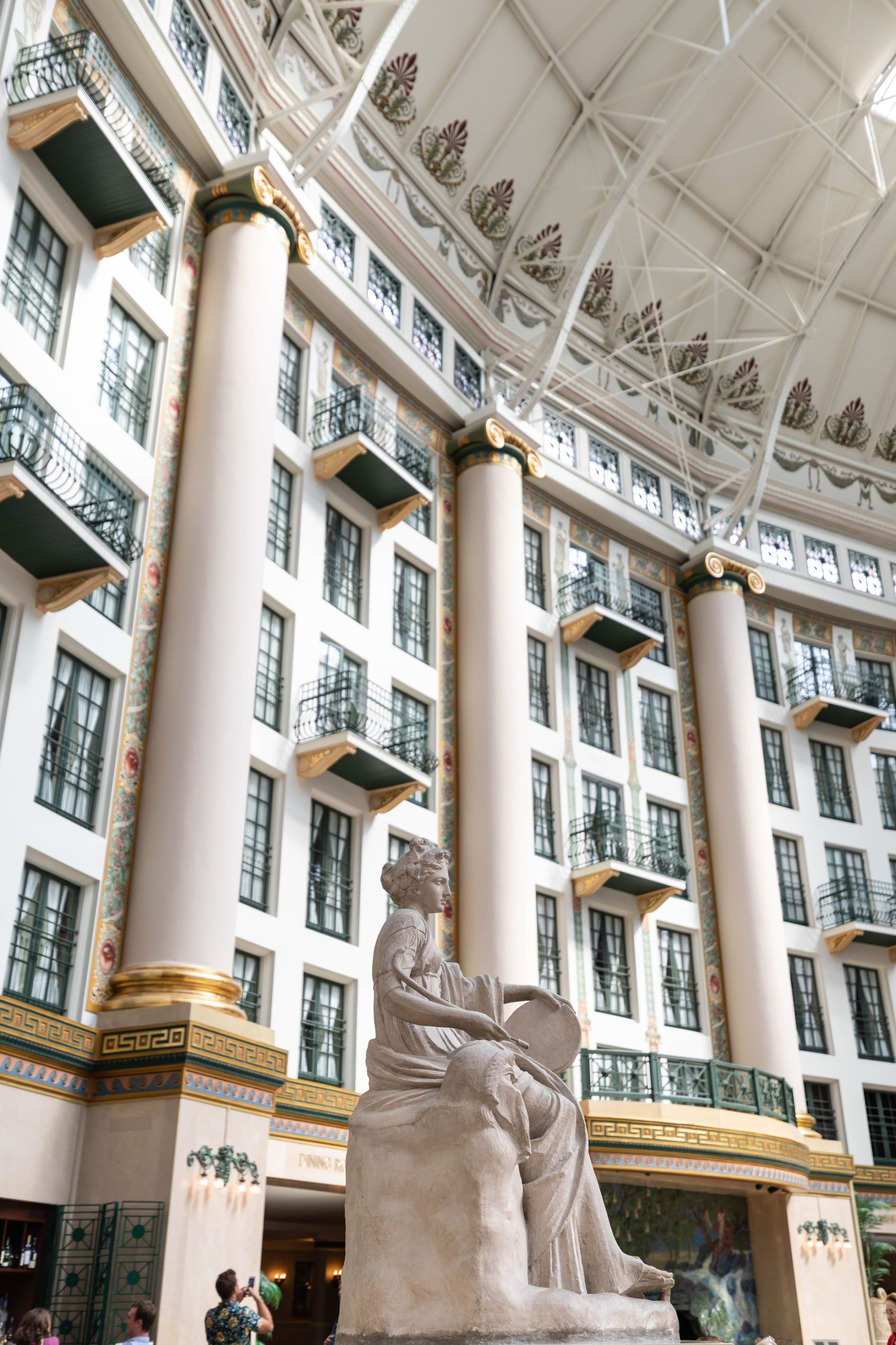 West Baden Springs Luxury Hotel in West Baden Springs, Indiana Luxury Hotels of the World North American AAA Diamond Hotel Awards