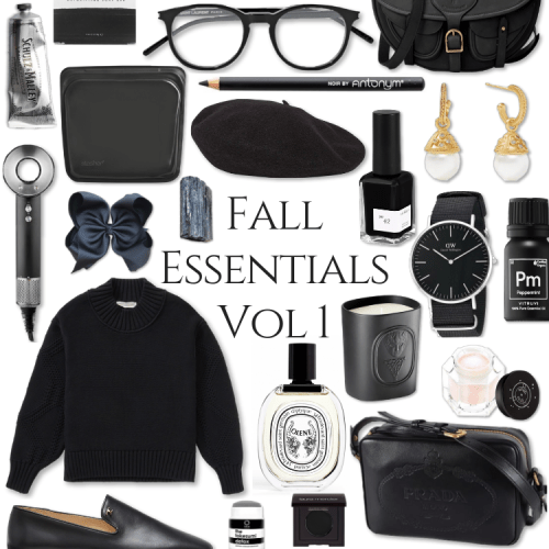 Fall Essentials 1 Gucci Diptyque Dyson Prada Fall OOTD Style