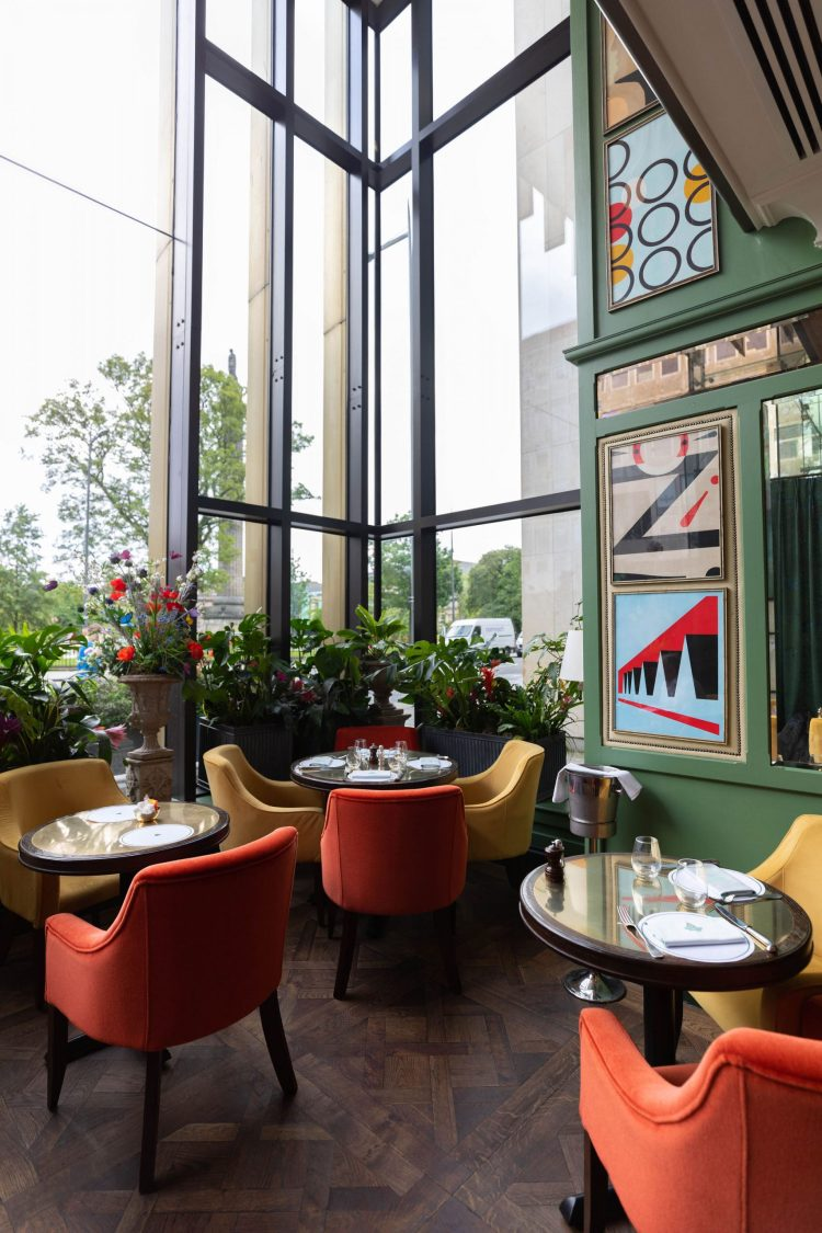 Luxury Restaurants of the World: The Ivy on the Square | Edinburgh
