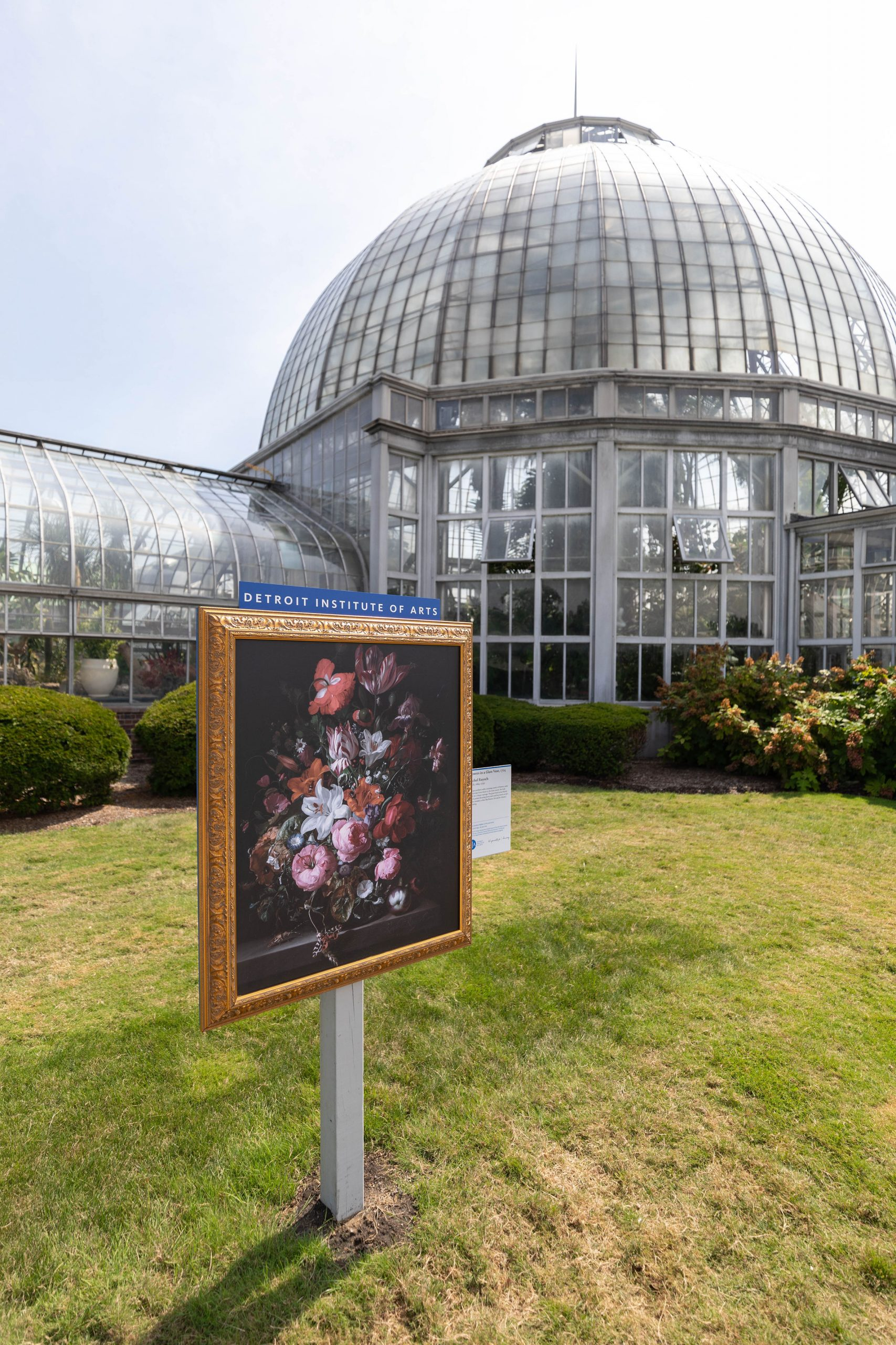 The Anna Scripps Whitcomb Conservatory Tropical Botanical Garden and Aquarium on Belle Isle Detroit Michigan Written & Photographed by Annie Fairfax