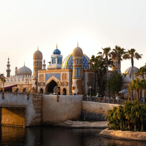 Tokyo DisneySea Travel Guide Arabian Coast Agrabah Palace