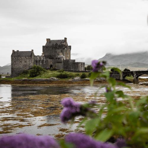 Eilean Donan Castle Dornie Isle of Skye Scotland by Annie Fairfax