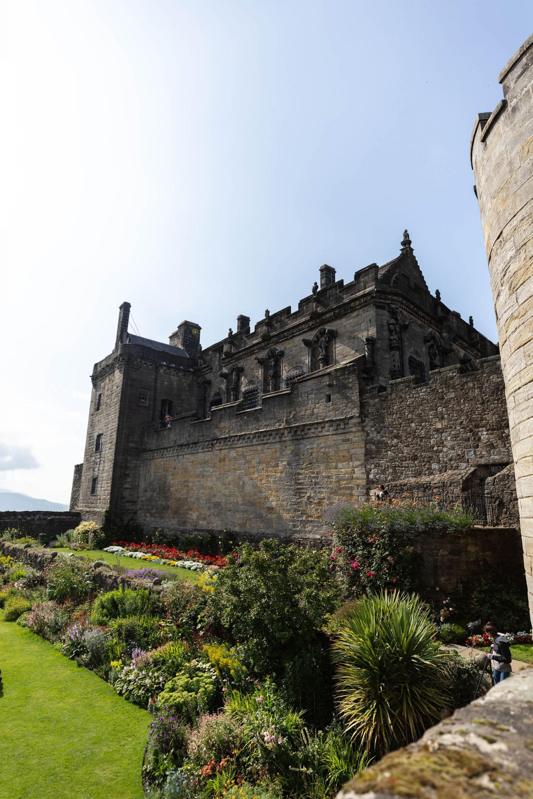 Castle Exterior Visit Stirling Castle Researched, written & Photographed by Annie Fairfax Scotland Travel Guides Itinerary Inspiration