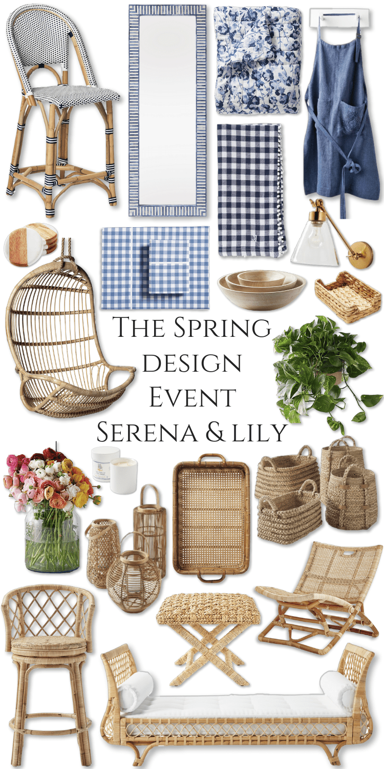 The Spring Design Event Serena & Lily by Annie Fairfax