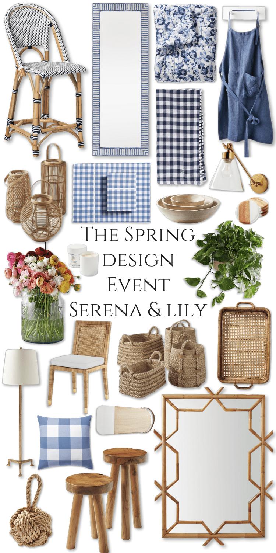 The Spring Design Event Serena & Lily by Annie Fairfax