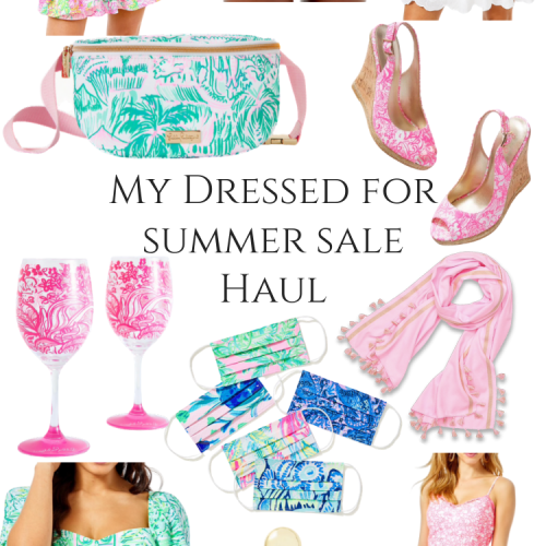 Lilly Pulitzer Dressed for Summer Sale Haul