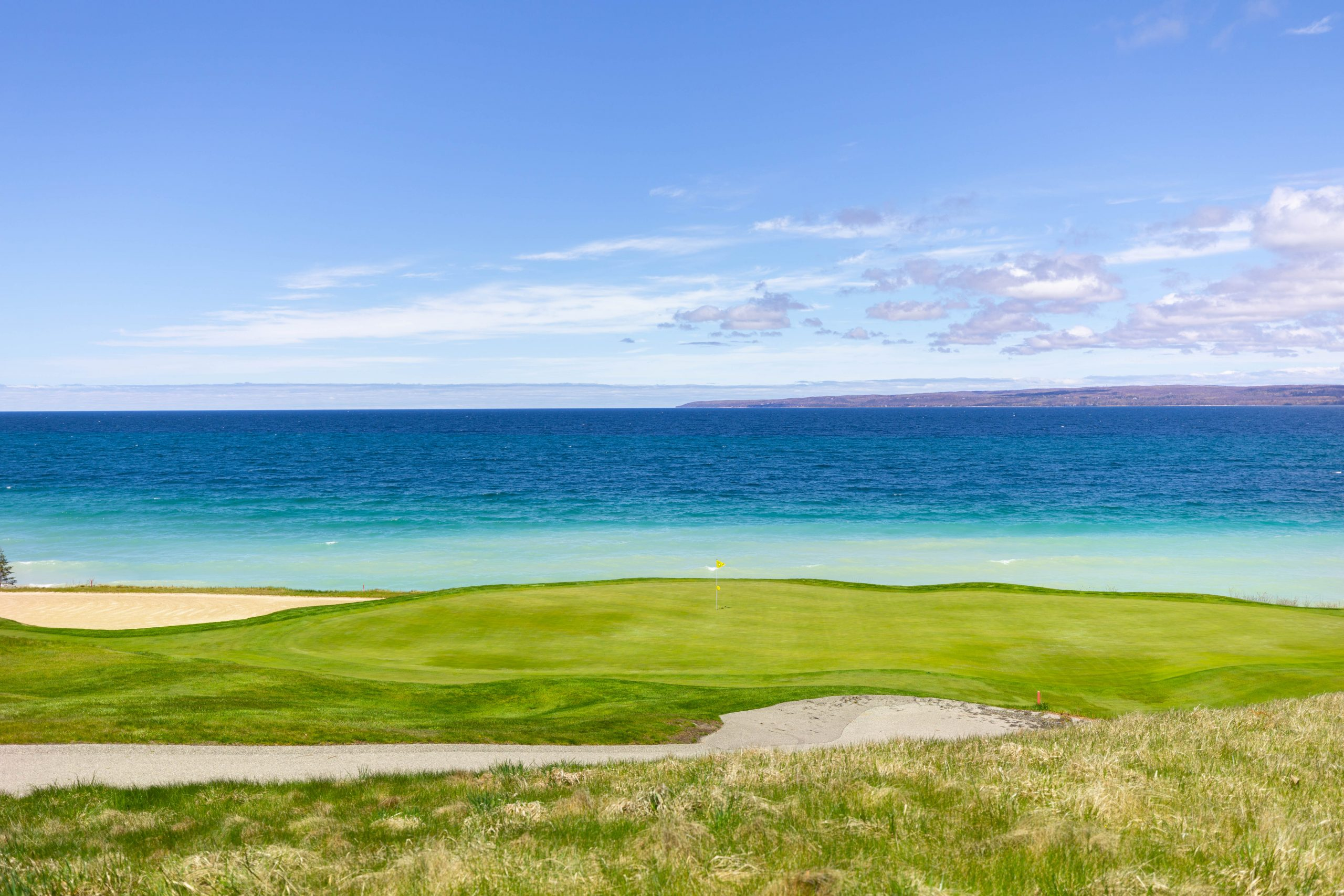 Golfing at Bay Harbor Golf Club in Northern Michigan by @AnnieFairfax