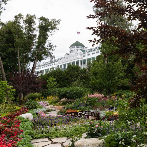 Grand Hotel on Mackinac Island Written and Photographed by Annie Fairfax