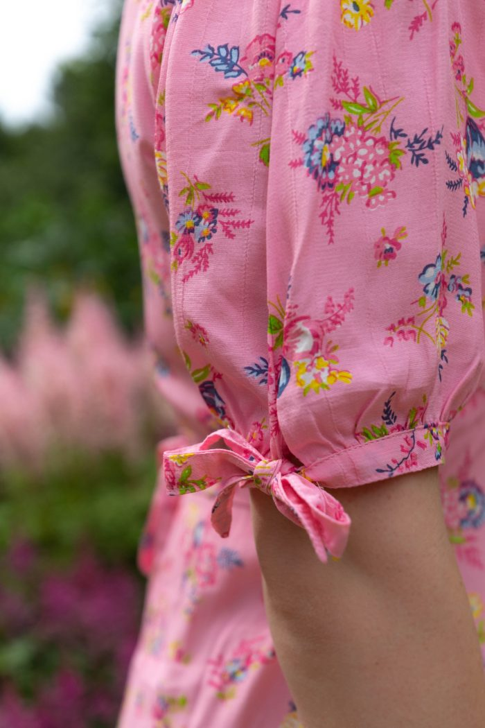Faithful The Brand Pink Floral Maxi Dress