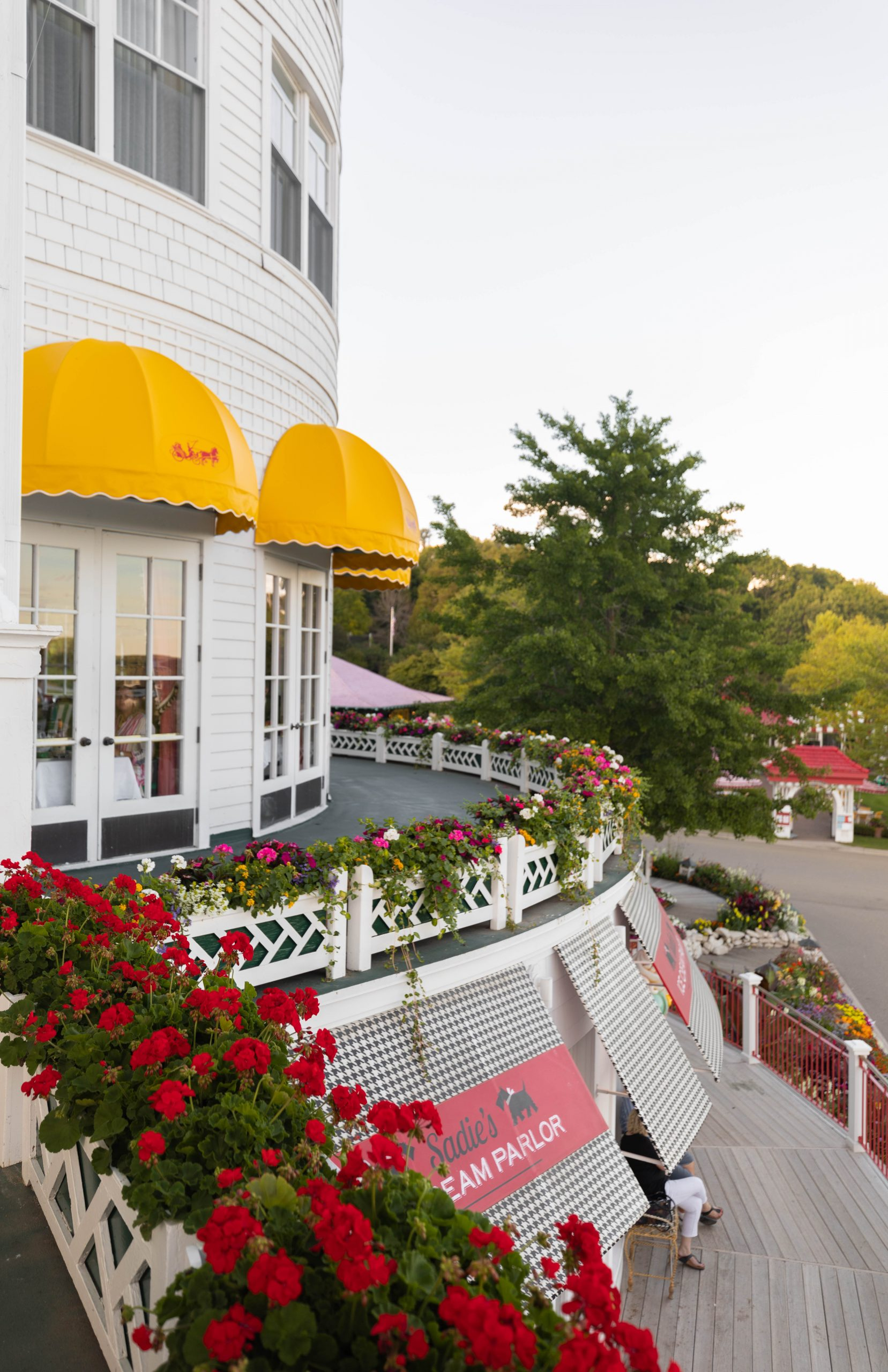 Sadie's Ice Cream Parlor Luxury Hotels of the World Grand Hotel on Mackinac Island in Northern Michigan Written and Photographed by Annie Fairfax