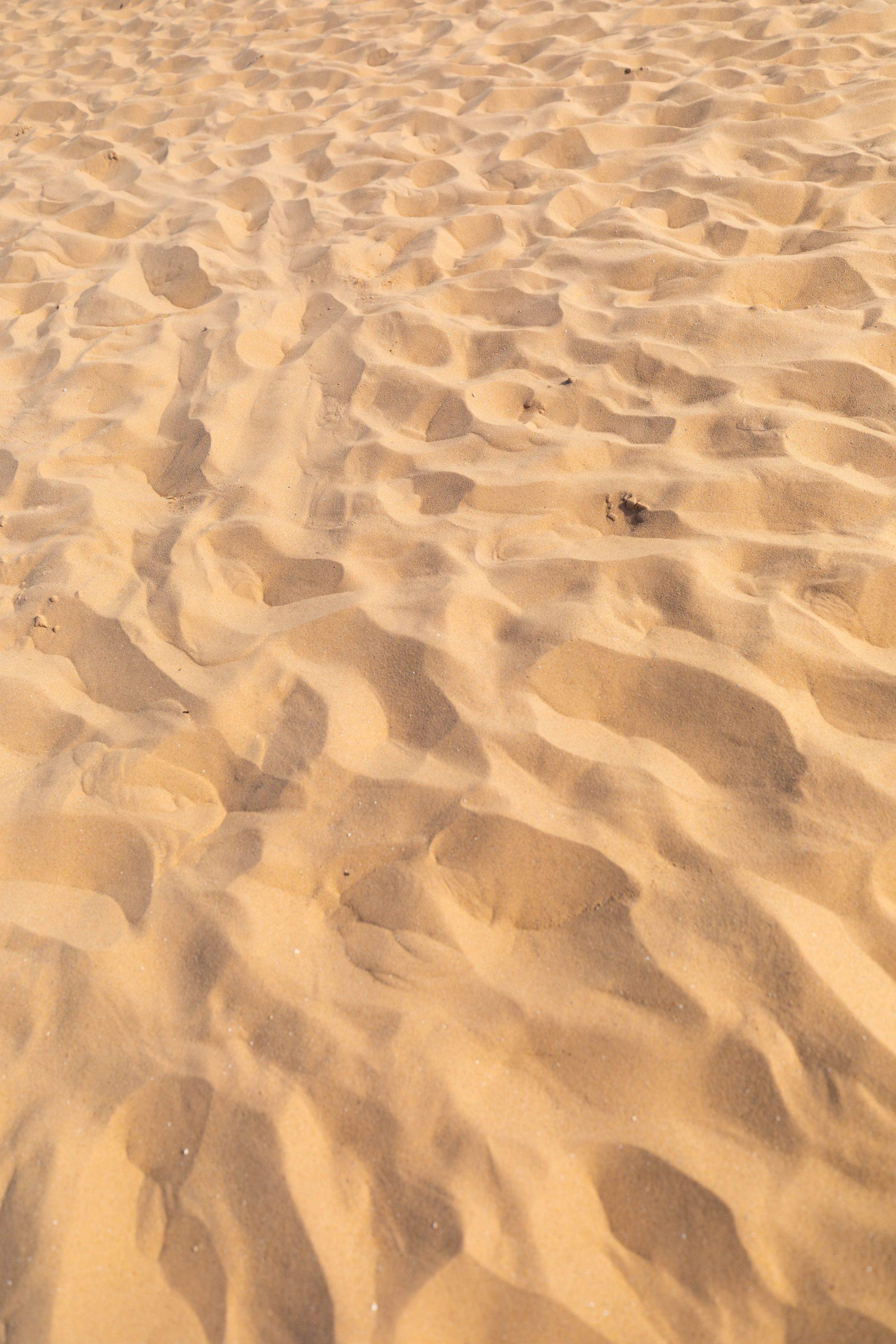 Shifting Sands at Sunset at Sleeping Bear Dunes National Lakeshore Michigan's Desert Beach by Annie Fairfax