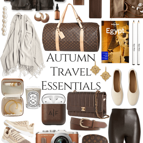 My Autumn Travel Essentials