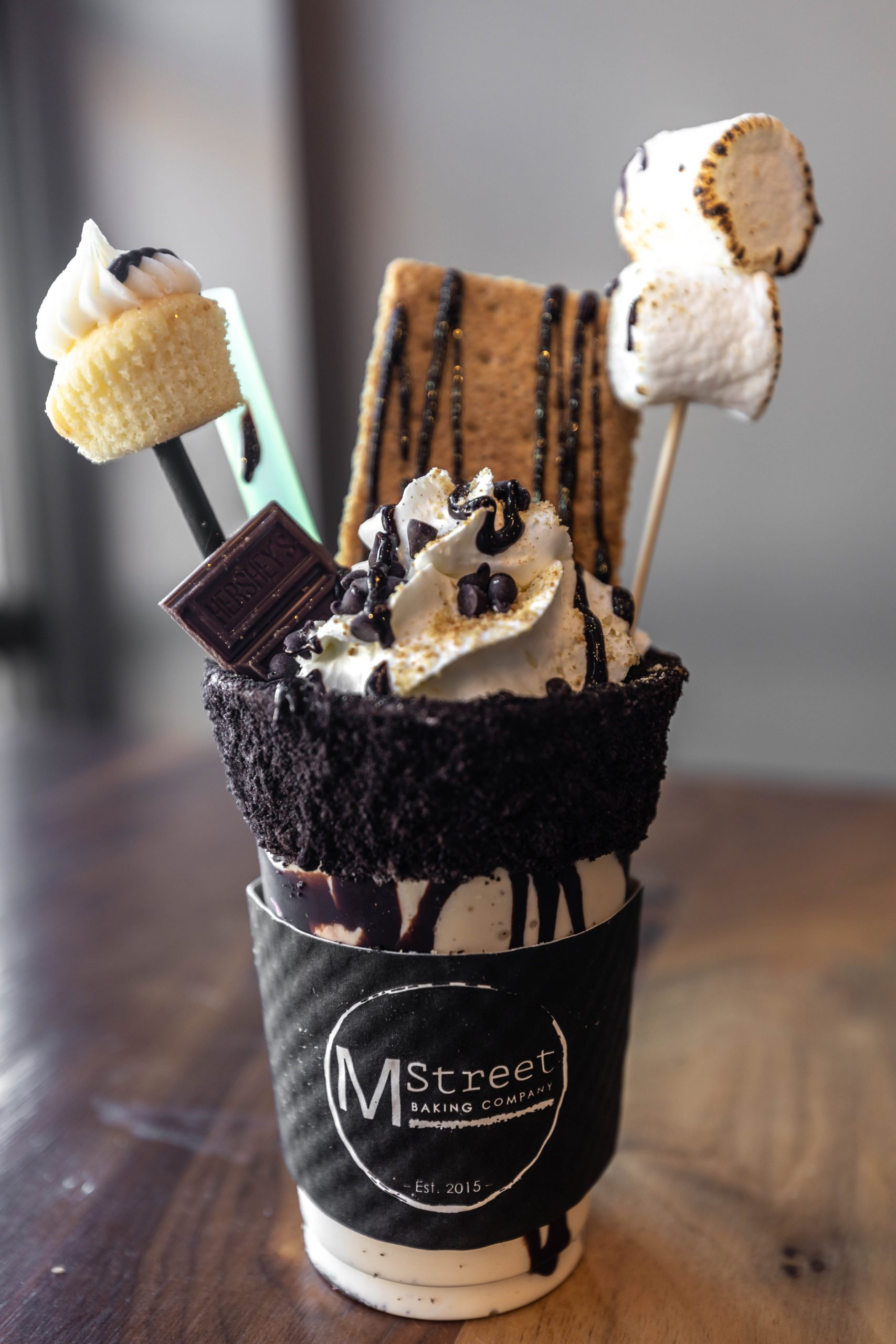 Insane Milkshakes From M Street Baking Co. in Howell Michigan S'mores by Annie Fairfax