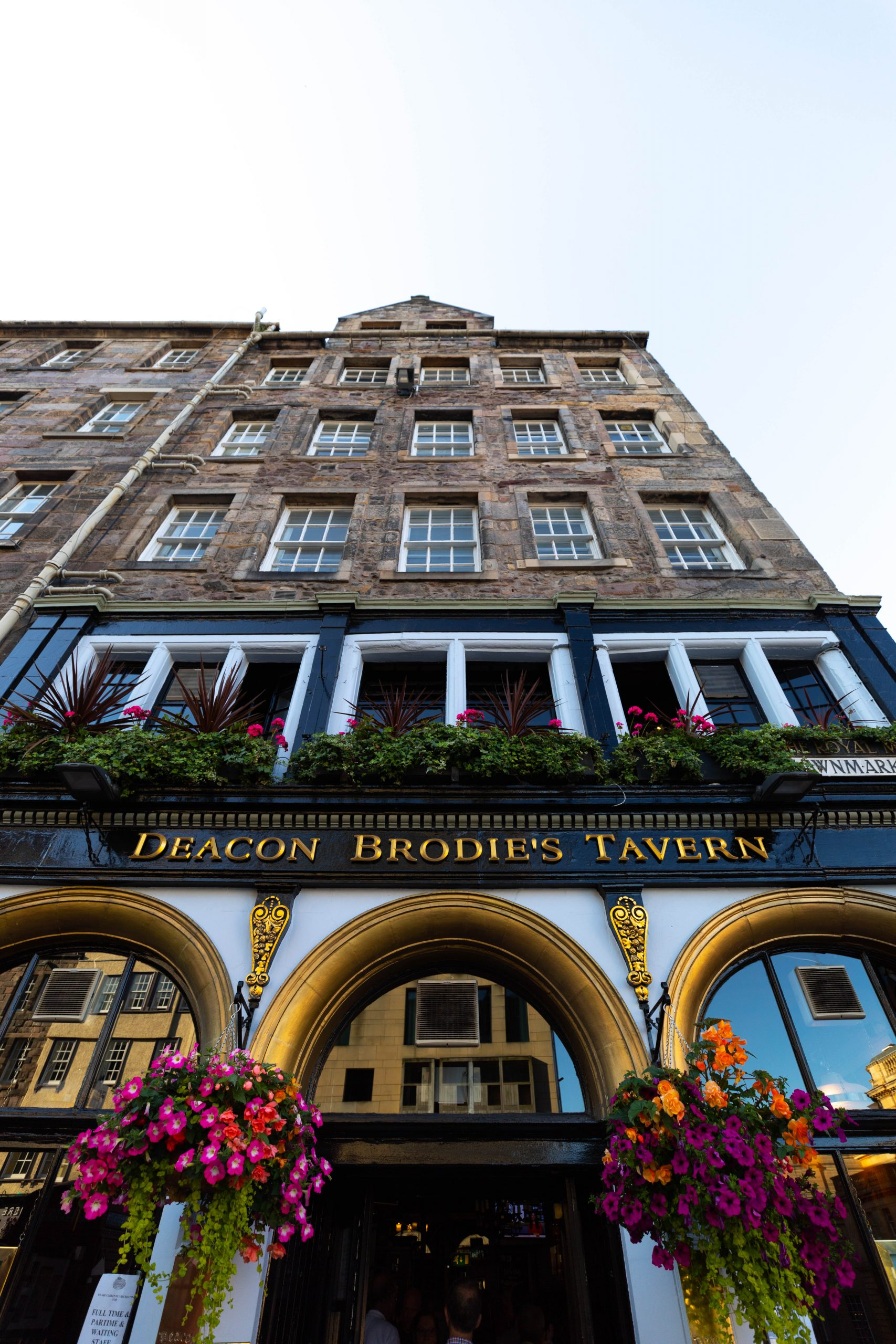 Deacon Brodie's Tavern Edinburgh Old Town Royal Mile Edinburgh the Luxury Travel Guide by Annie Fairfax Where to Eat What to Do Where to Stay Site Seeing in Edinburgh Honeymoon Vacation Ideas