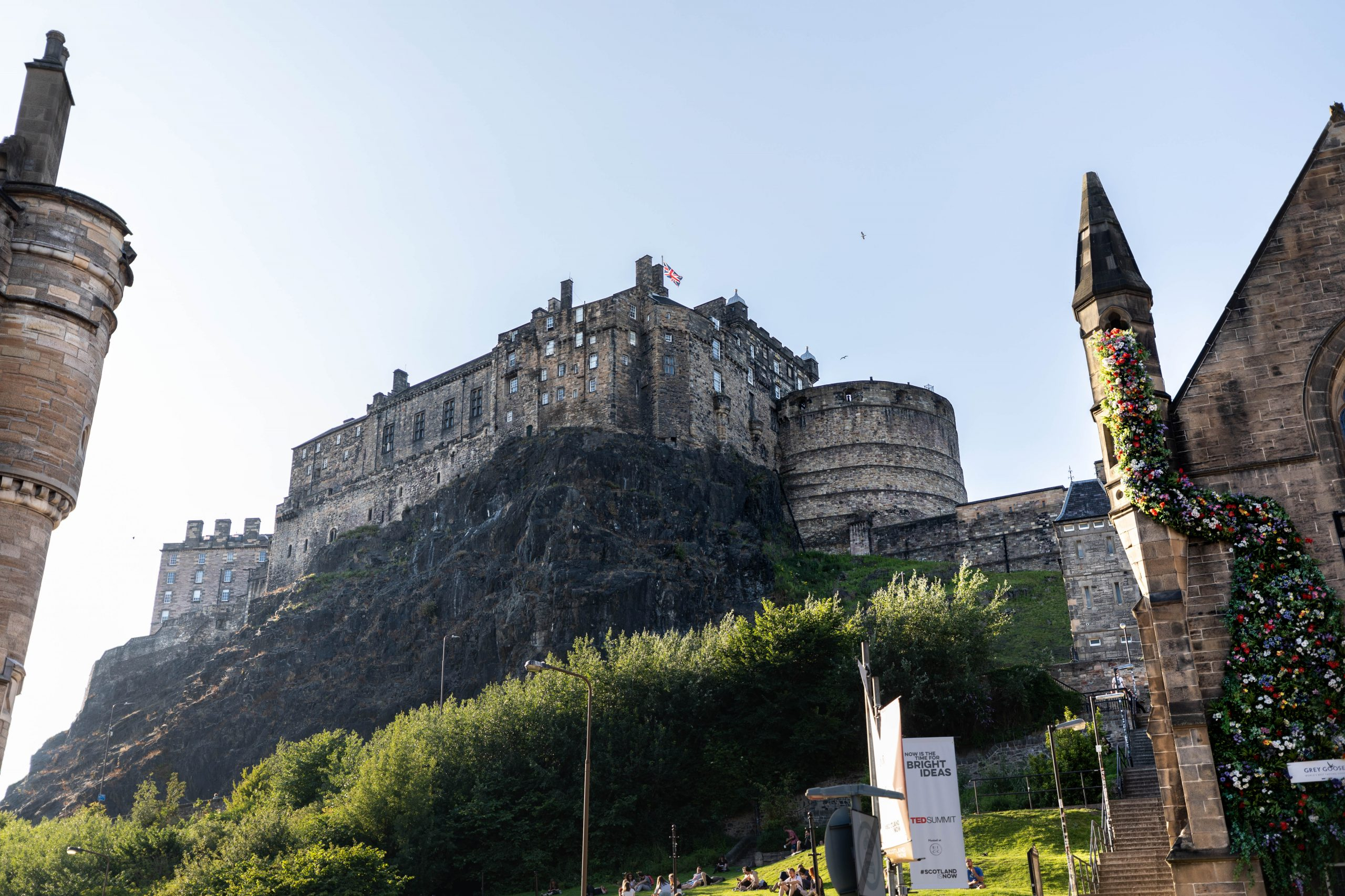 Edinburgh Castle on the Hill Luxury Travel Guide Scotland by Annie Fairfax