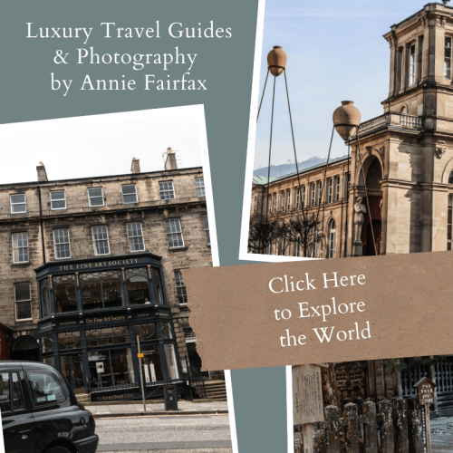 Luxury Travel Guides from around the world by Annie Fairfax