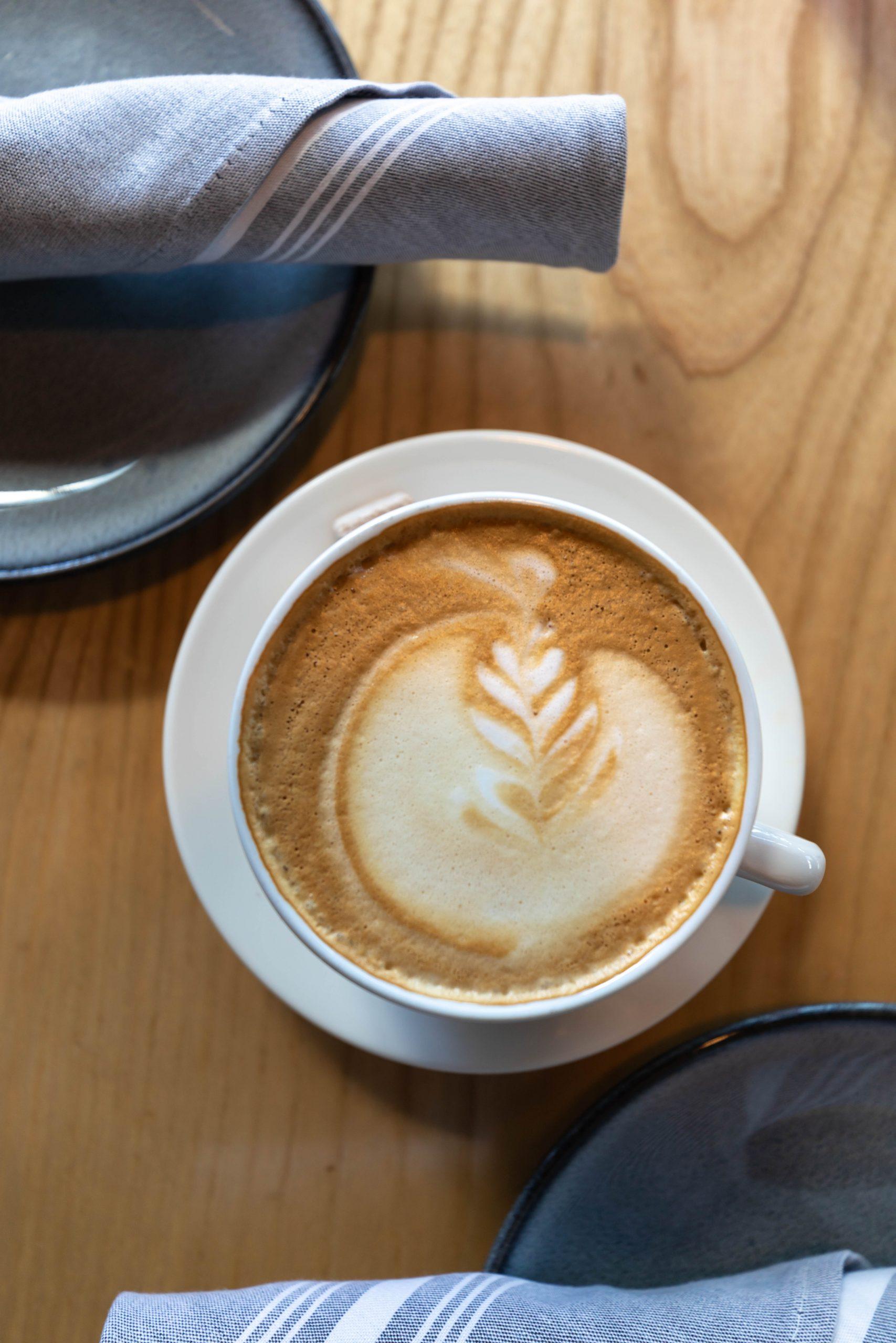 Latte Art at Sawyer Seattle Washington Photographed by Annie Fairfax