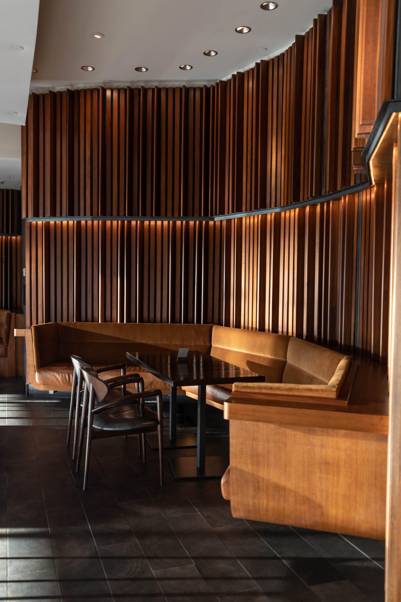 Goldfinch Tavern Inside Four Seasons Hotel Seattle Washington by Annie Fairfax