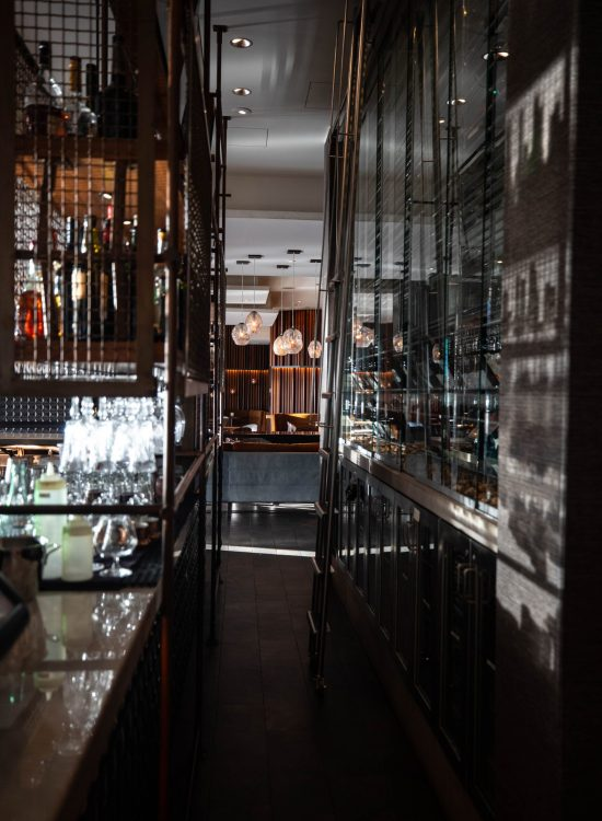 Goldfinch Tavern Inside Four Seasons Hotel Seattle Washington by Annie Fairfax