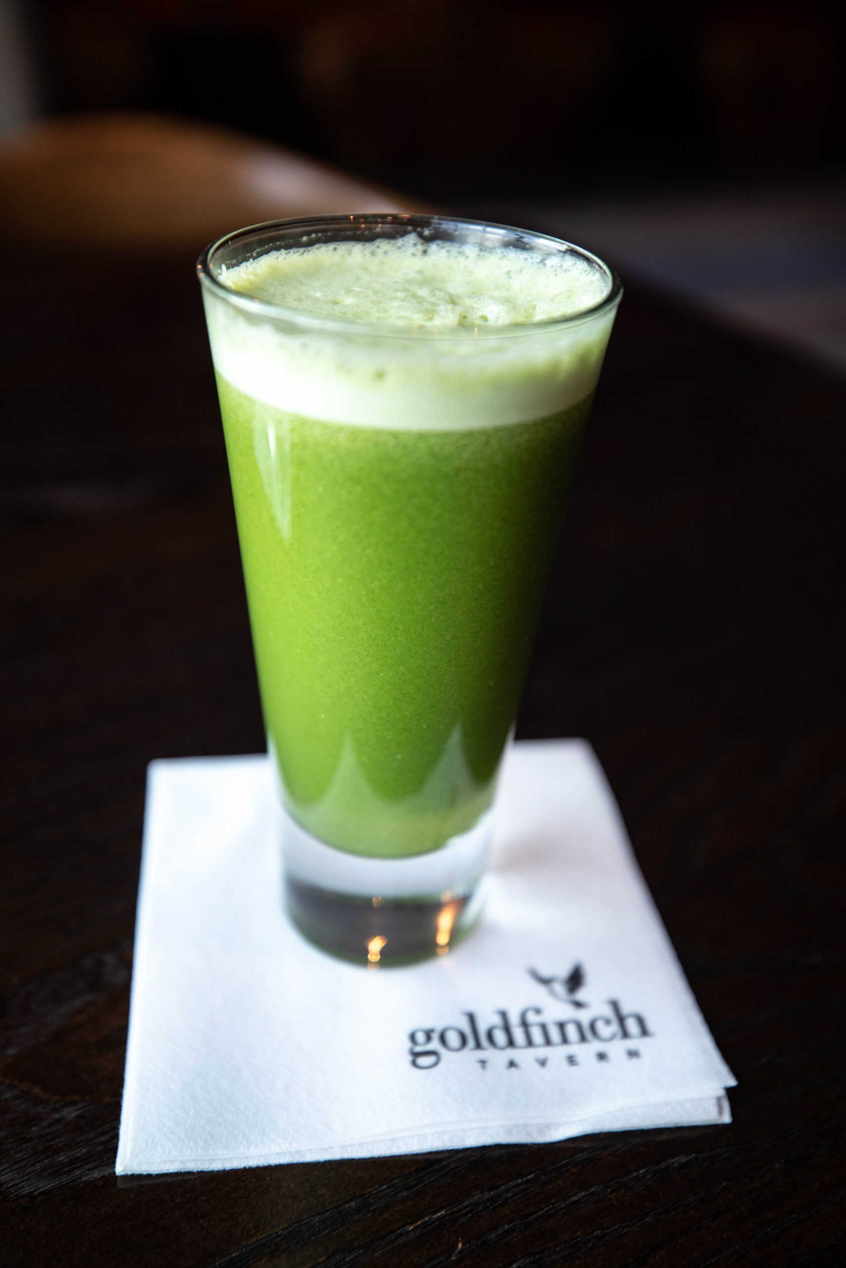 Goldfinch Tavern Freshly Squeezed Green Juice Four Seasons Hotel Seattle Washington by Annie Fairfax