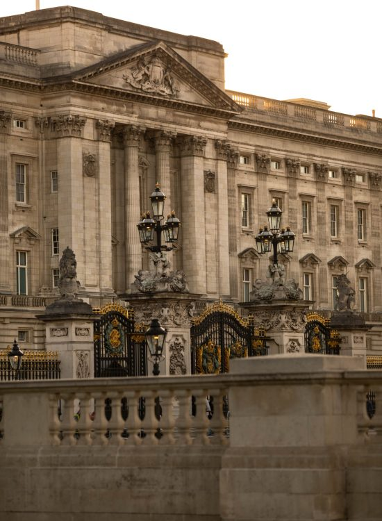 Buckingham Palace at Sunset in London England by Annie Fairfax Luxury Travel Guide United Kingdom