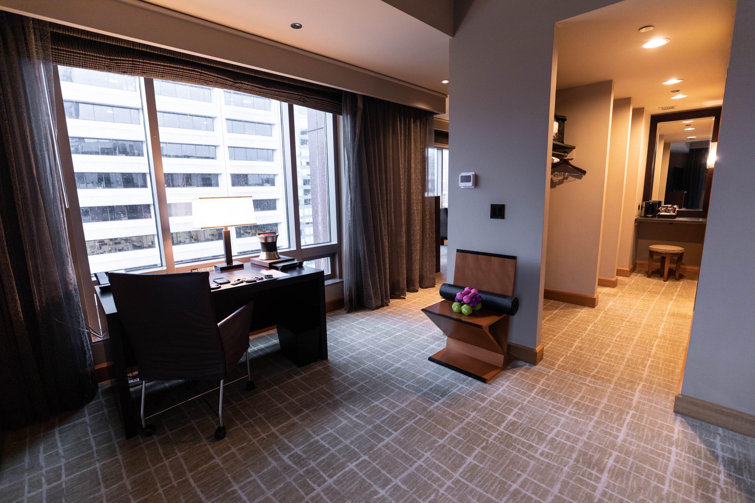 Emerald Suite Grand Hyatt Seattle Washington by Annie Fairfax