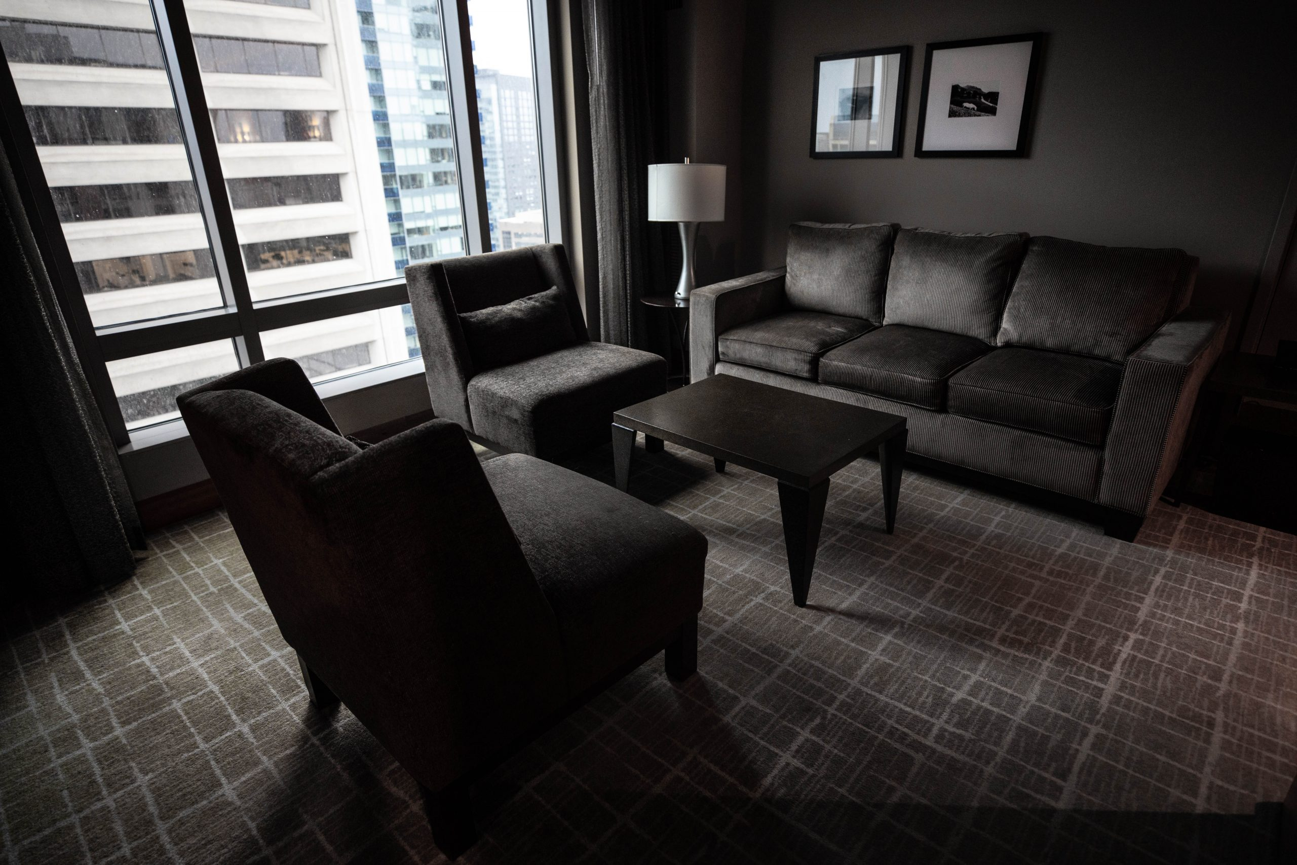 Emerald Suite Grand Hyatt Seattle Washington by Annie Fairfax