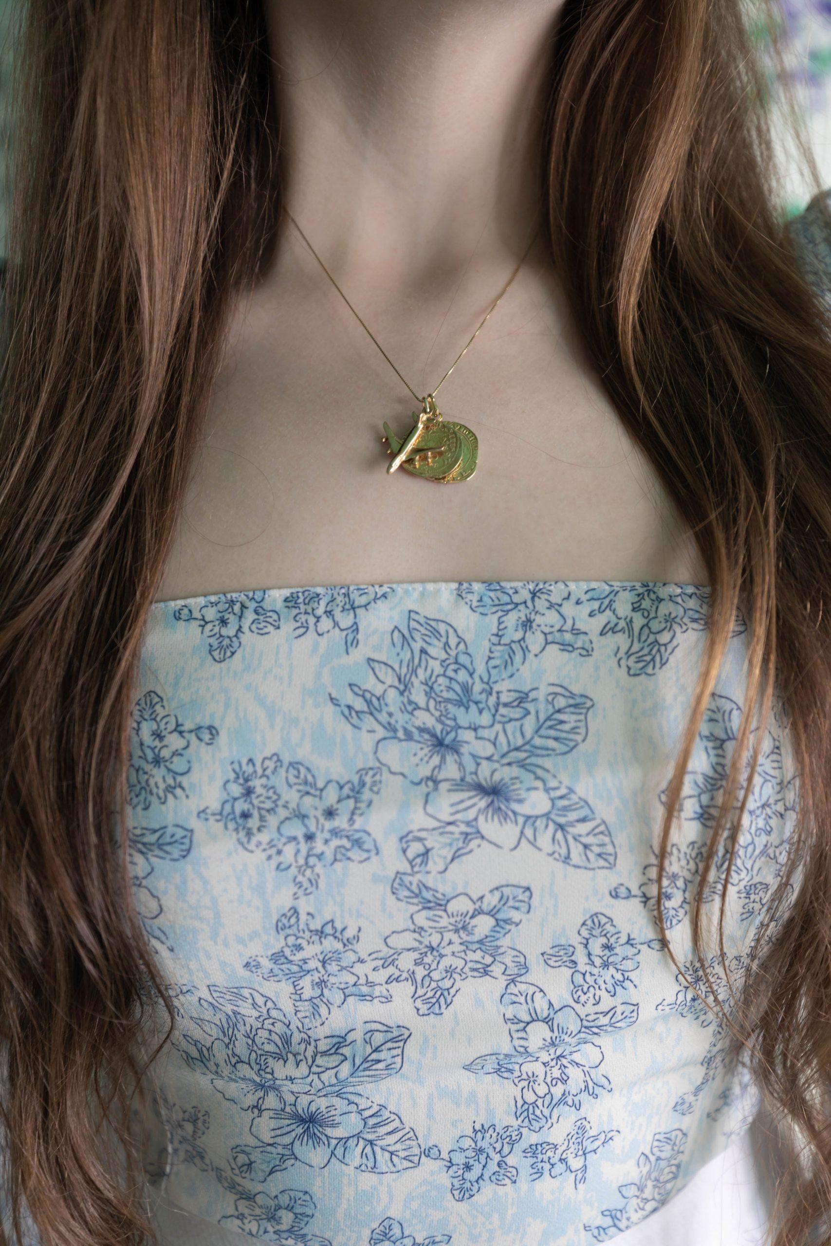 Tie Shoulder Reformation Top Cult Gaia Clear Ark Bag Styled by Annie Fairfax