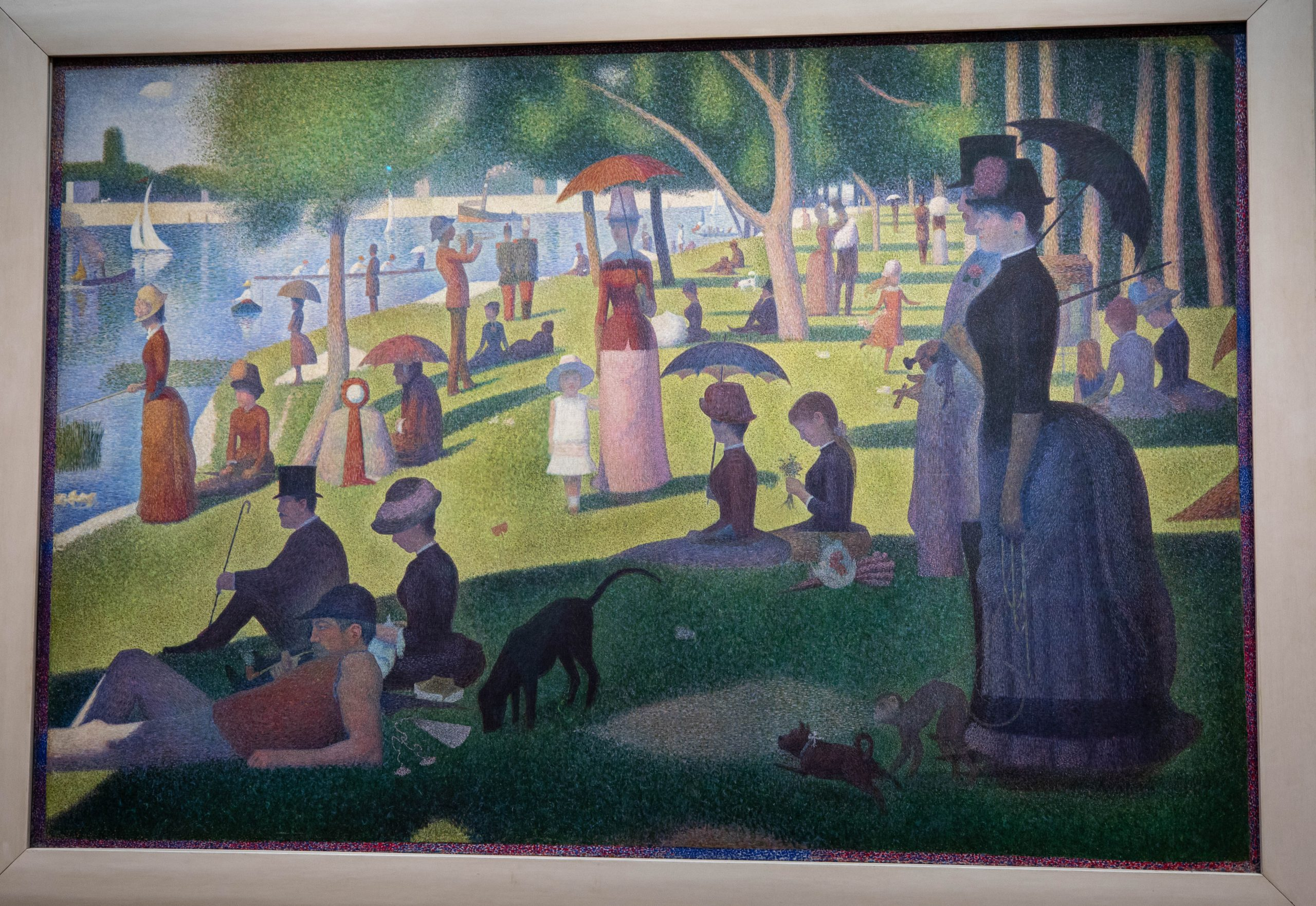A Sunday Afternoon on the Island of La Grande Jatte The Art Institute of Chicago in Chicago, Illinois by Annie Fairfax