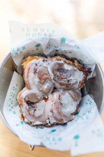 Cinnamon Rolls Summer House Santa Monica Vegan Friendly Gluten Free Restaurant in Chicago, Illinois Gold Coast by Annie Fairfax